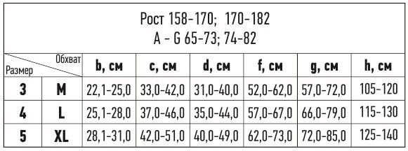 1313 - Компрессионные колготки Tonus Elast 0404 LUX MAX